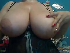 Webcams 2014 - Colombian MILF w HUGE TITS 4