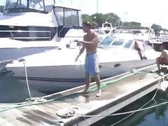 Boat, Amateur, Banging, Boat, Foursome, Gangbang