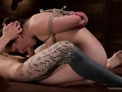 All, BDSM, Bondage, Bound, Brunette, Cute