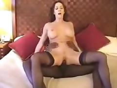 Dark Brown white wife with dark paramour - Homemade Interracial Cuckold