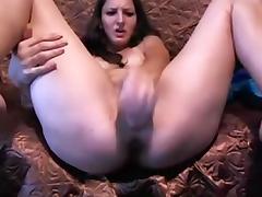 Sexy Teen Dildoing Ass & Pussy Till Squirt