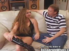 Big Breasted Brandi Trained Slut Wife