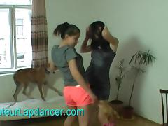 Super wild lapdance by czech amateur