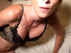 kelly the cum slut 1 fuckiing facial cumplay