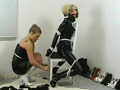 Bound, BDSM, Bound, Choking, Gagging, Latex