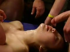 Annabel Chong covered with cum