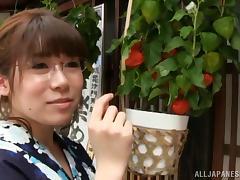 Curvy Asian Teen Slut In Fancy Kimono Rides A Cock Hardcore Doggystyle
