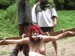 Caught, BDSM, Caught, Outdoor, Forest, Jungle