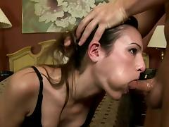 Facial for insolent slut in need