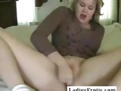 Old bbw woman with big tits and toy on webcam