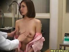 Doctor, Asian, Babe, Boobs, Doctor, Fetish