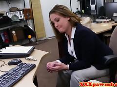 A dirty pawn broker offers a worried girl money