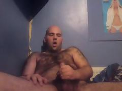 THICK YOUNG HAIRY & WANKING