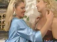 Curly, Bitch, Blonde, Curly, Dildo, Gloves