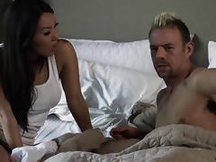 Red hot pornstar Asa Akira enjoys getting drilled hard