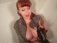Redhead British MILF Solo