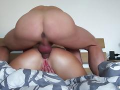 Brunette bitch Nata Lee allows a dude to fuck her pussy and bumhole