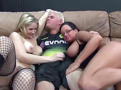 Foursome, Angry, Asshole, Big Tits, Blowjob, Cowgirl