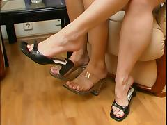 Lesbian Foot Worship 68