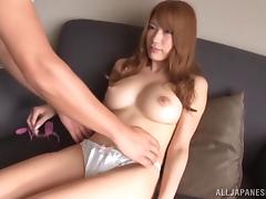 Japanese Nami Aino with natural tits receives Hardcore banging