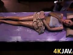 Japanese Babe Massaged