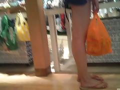 Flashing, Amateur, Flashing, Legs, Panties, Shorts