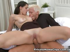 AmateurSexTeens Clip: Iveta and Jan