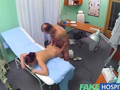 Clinic, Adorable, Blowjob, Couple, HD, Hospital