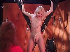 BDSM, BDSM, Blonde, Femdom, Nipples, Nipple Clamp