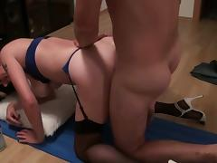 german wife blow, fuck and anal